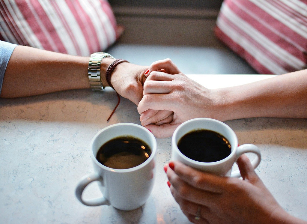 love, coffe, cup